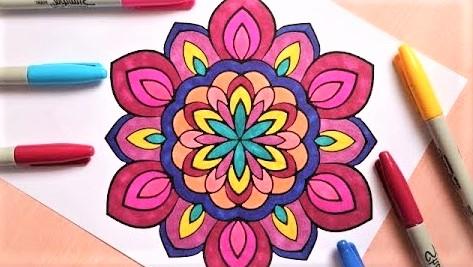 coloriage adulte